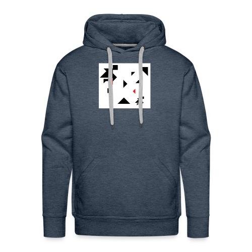 sreadshirt-catalogo-Uomo_tangram_2 - Sweat-shirt à capuche Premium pour hommes