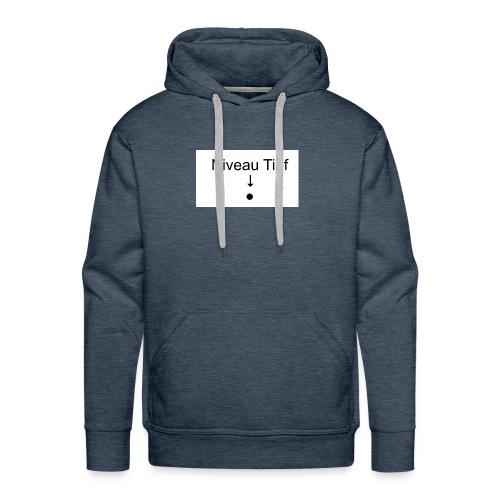 Niveau Tiefpunkt Shirt - Männer Premium Hoodie