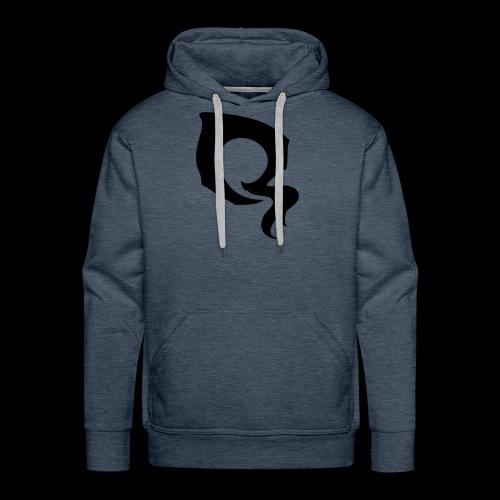 ᐚ ᗕ ᔹ ᖼ ᐻ Ż ____Logo by 5YN7H - Sweat-shirt à capuche Premium pour hommes