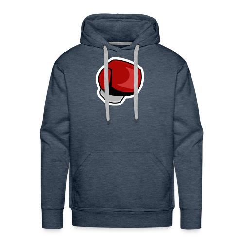 BANGI Punch Logo - Felpa con cappuccio premium da uomo
