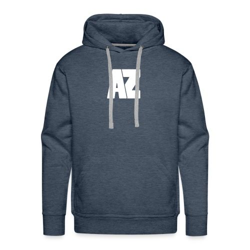 Androklez White Text - Men's Premium Hoodie