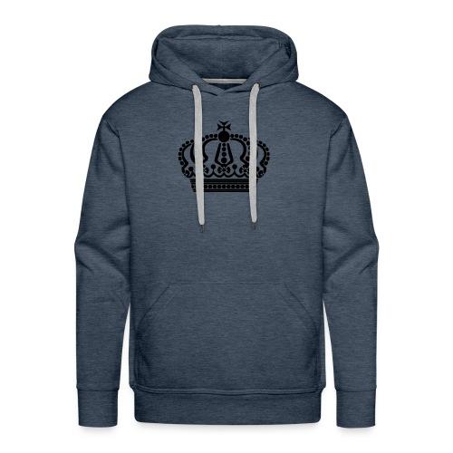 kroon keep calm - Mannen Premium hoodie