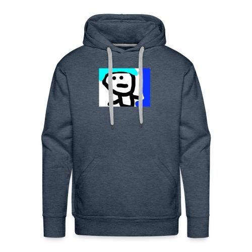 BOY WITH BLUE HAIR!! - Men's Premium Hoodie