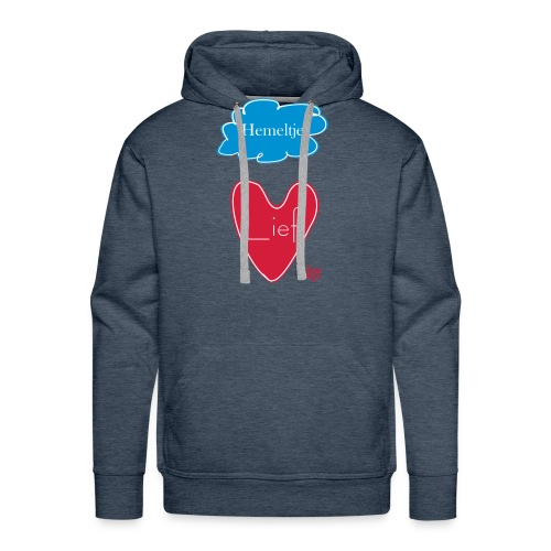 Hemeltje_Lief - Mannen Premium hoodie