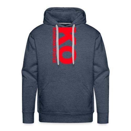 ko hoodie - Mannen Premium hoodie