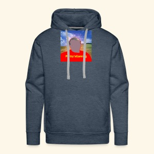 cartoon of myself - Men's Premium Hoodie
