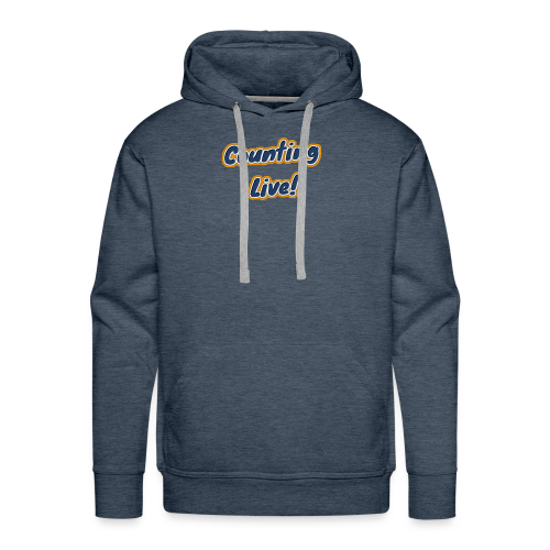 Counting Live: - Mannen Premium hoodie