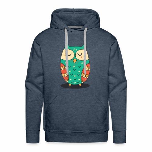 Cute Owl - Männer Premium Hoodie