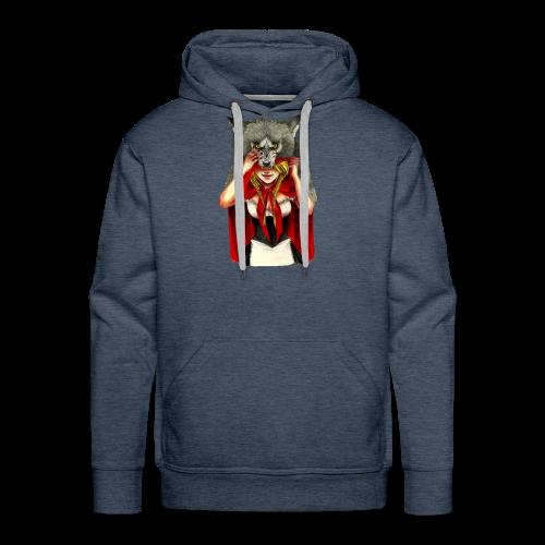 Little Red Riding Hood - Sudadera con capucha premium para hombre
