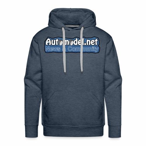 Automodel.net - Felpa con cappuccio premium da uomo