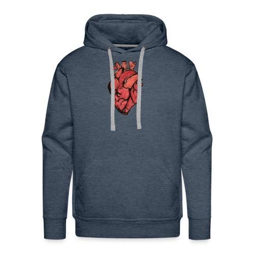 Heart - Mannen Premium hoodie