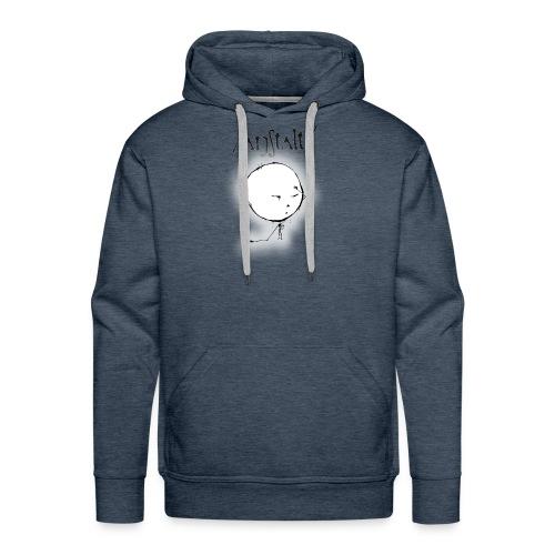 kreisling mit logo (schwarz) - Männer Premium Hoodie