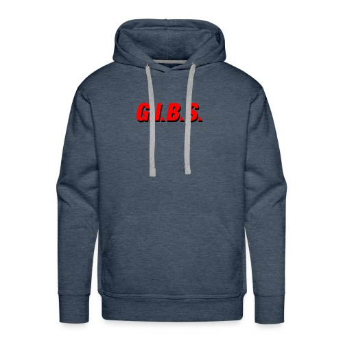 Logo Gibs - Sweat-shirt à capuche Premium pour hommes