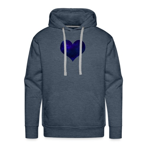 Love from outer space - Men's Premium Hoodie