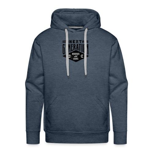 Diseño vintage Next Generation - Men's Premium Hoodie