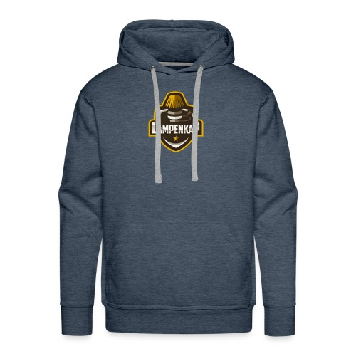 Lampenkap Logo Klein - Mannen Premium hoodie