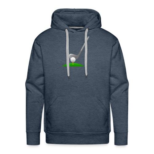 Golf Ball PNG - Sudadera con capucha premium para hombre
