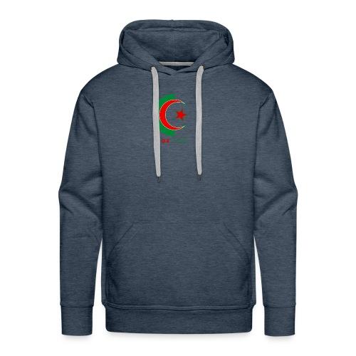 logo 3 sans fond dz1962 - Sweat-shirt à capuche Premium pour hommes