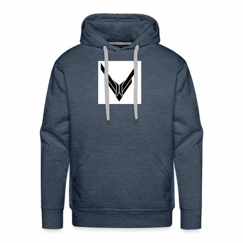 v - Mannen Premium hoodie
