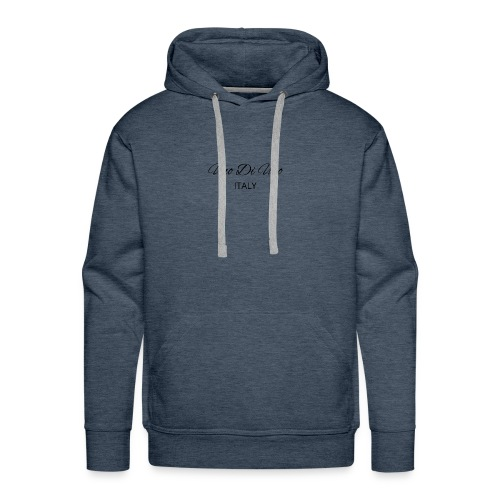 Uno Di Uno simple cotton t-shirt - Men's Premium Hoodie
