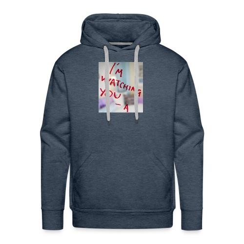 sam-sung galaxy s6 (I am watching you case) - Mannen Premium hoodie