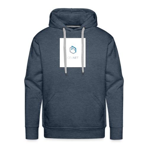 CELNET - Sweat-shirt à capuche Premium pour hommes
