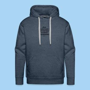 Troebel water - Mannen Premium hoodie