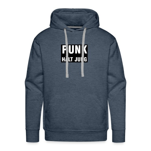 Punk hält jung - Männer Premium Hoodie