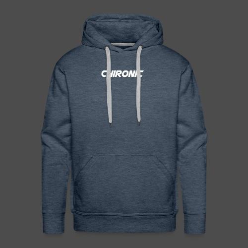 Chironic Text White - Mannen Premium hoodie
