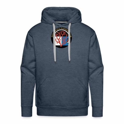 Royal Wolu Plongée Club - Sweat-shirt à capuche Premium pour hommes