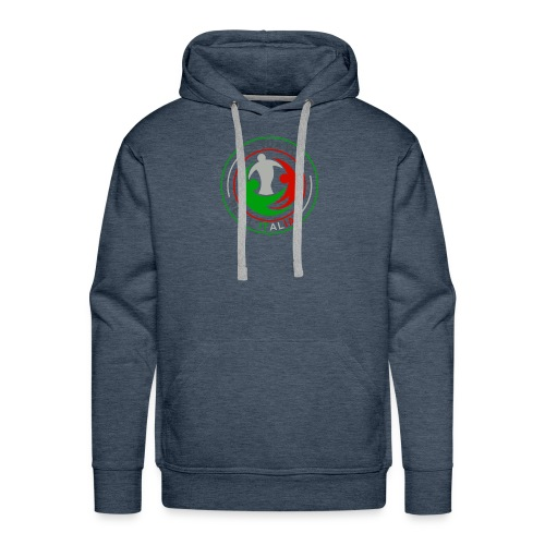 LA_TUA_VOCE_PER_ITALIA_01-png - Felpa con cappuccio premium da uomo