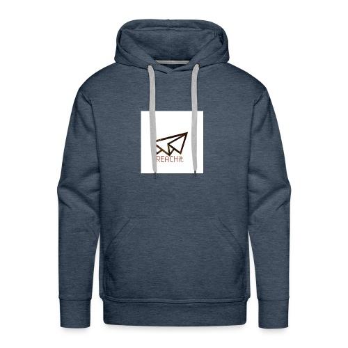 REACHit - Sweat-shirt à capuche Premium pour hommes