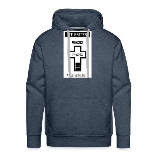 LifeBat120-jpg - Mannen Premium hoodie