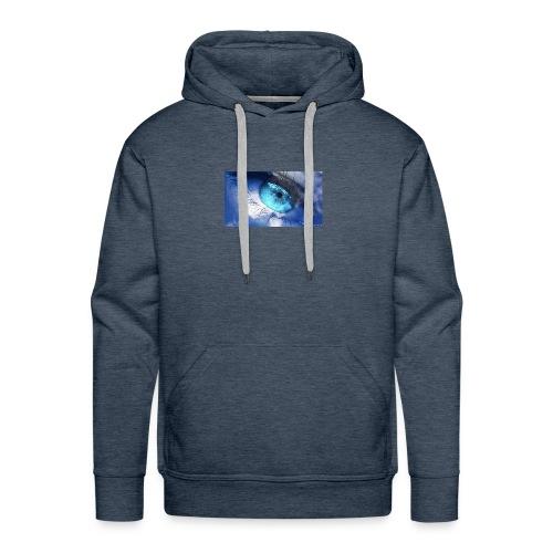 Der blau auge lets s player - Männer Premium Hoodie