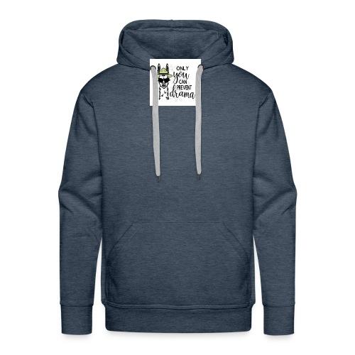 Lama Drama - Mannen Premium hoodie