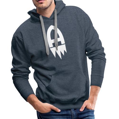 Adelite - Weisses Logo - Männer Premium Hoodie