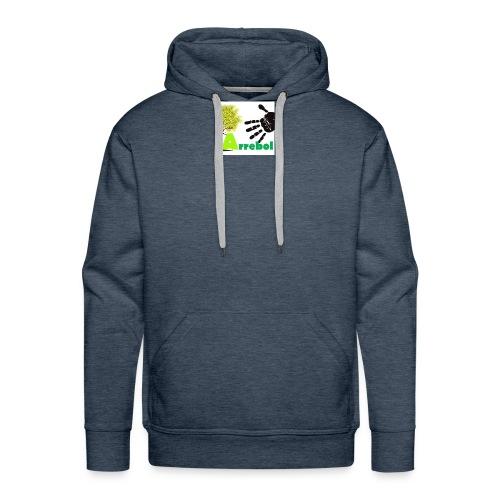 logo_arrebol_bueno - Sudadera con capucha premium para hombre