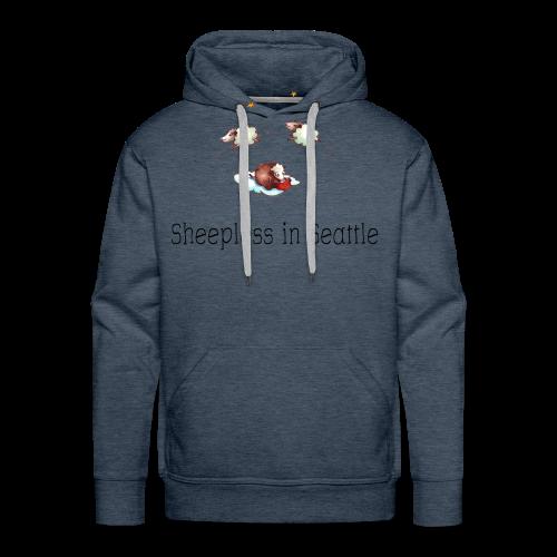 Sheepless in Seattle - Sheep Storys - Männer Premium Hoodie