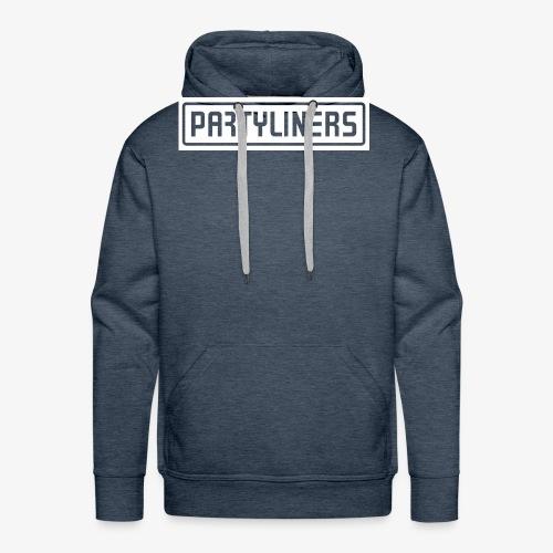 PARTYLINERS Design - Herre Premium hættetrøje