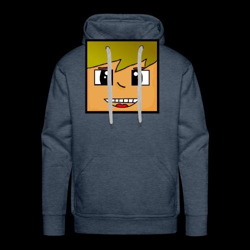Kopf - Männer Premium Hoodie