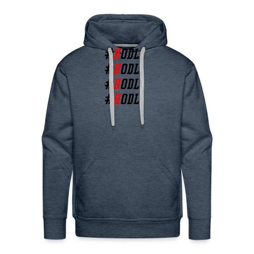 HODL - bitcoin litecoin ethereum shirt - Männer Premium Hoodie