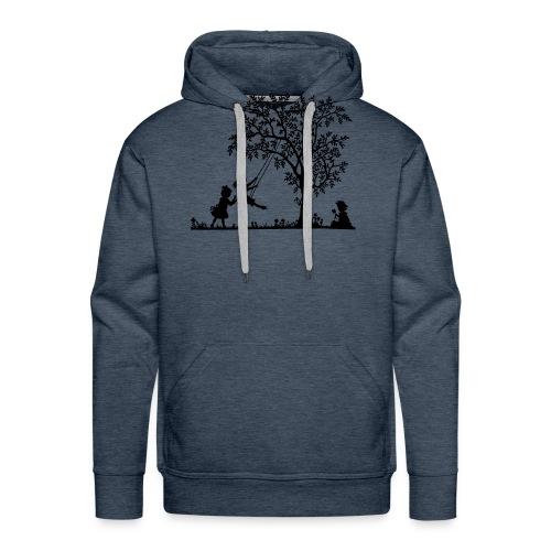 Koszulka three - Felpa con cappuccio premium da uomo