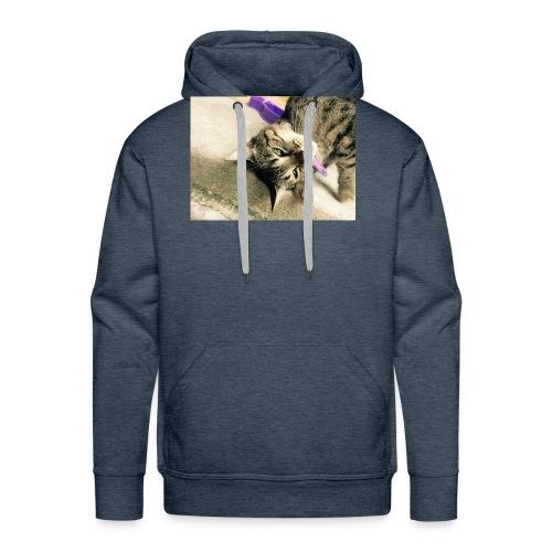 Gatito diseño de almuadilla para ratón - Sudadera con capucha premium para hombre
