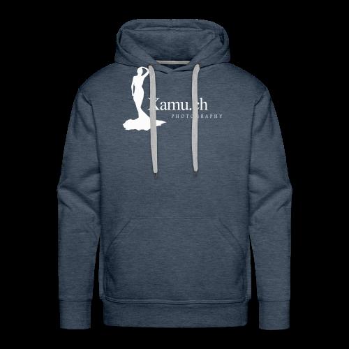 logoxamuweiss_gross_kl - Männer Premium Hoodie