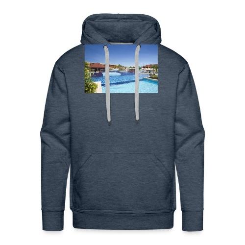 splendide piscine - Sweat-shirt à capuche Premium pour hommes