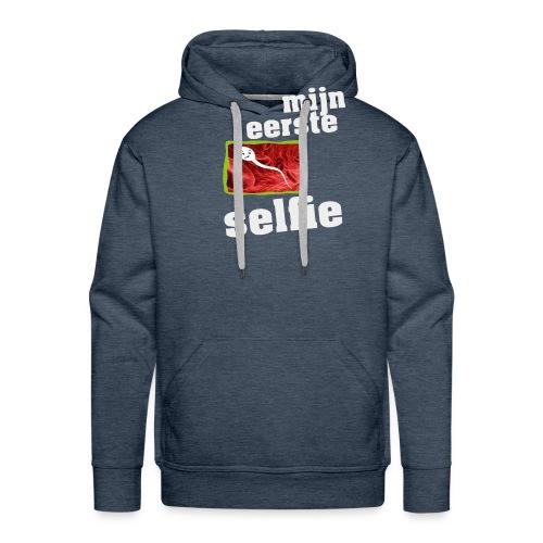 mijn eerste foto - Mannen Premium hoodie