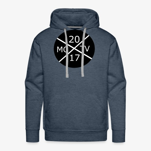 Rundes MCTV Logo - Männer Premium Hoodie
