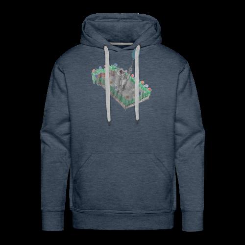 robotandflowers - Männer Premium Hoodie