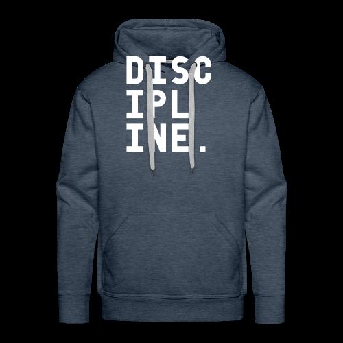 Discipline - Mannen Premium hoodie