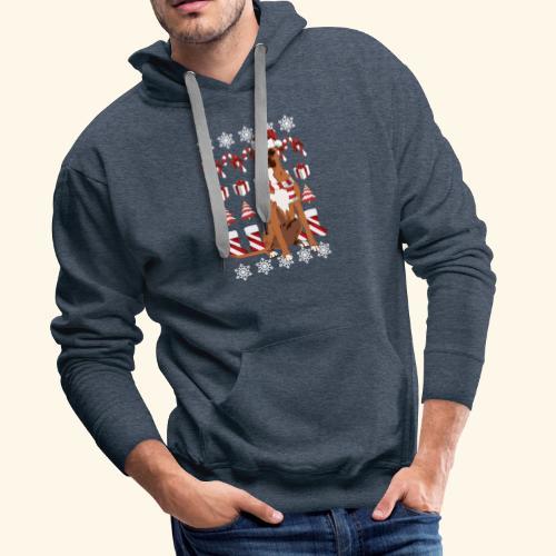 Boxer hond - Mannen Premium hoodie